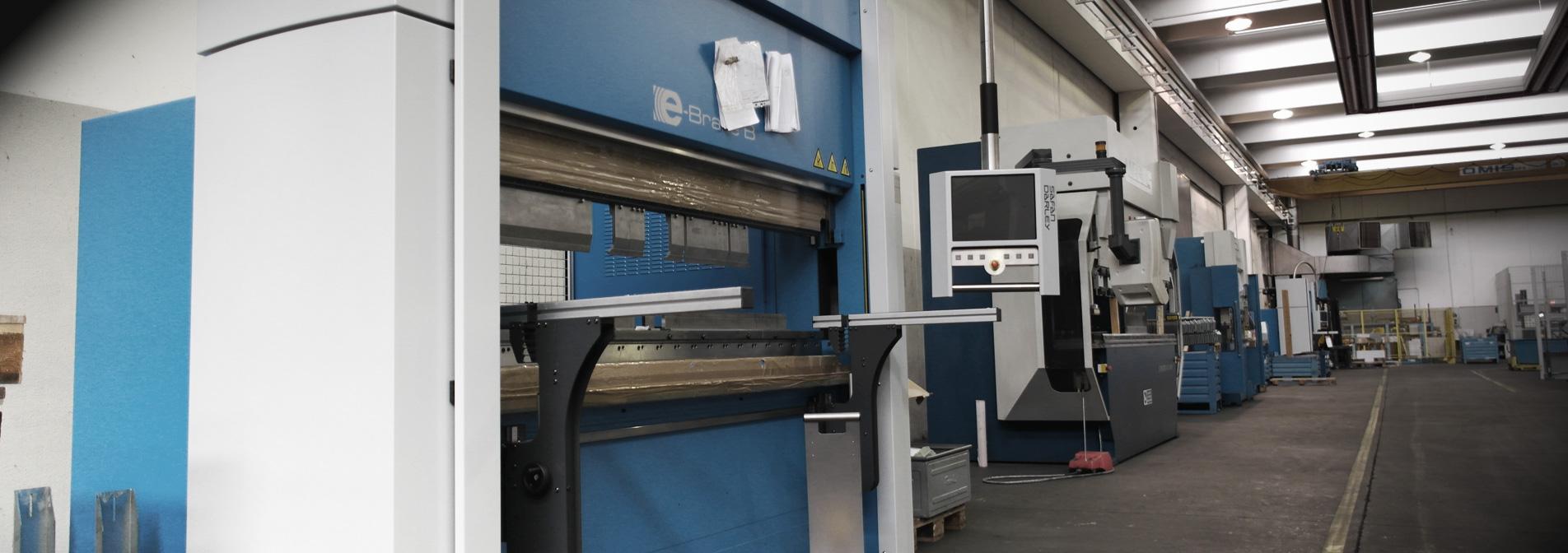 Taglio Laser, Punzonatura, Piegatura e Calandratura C.N.C